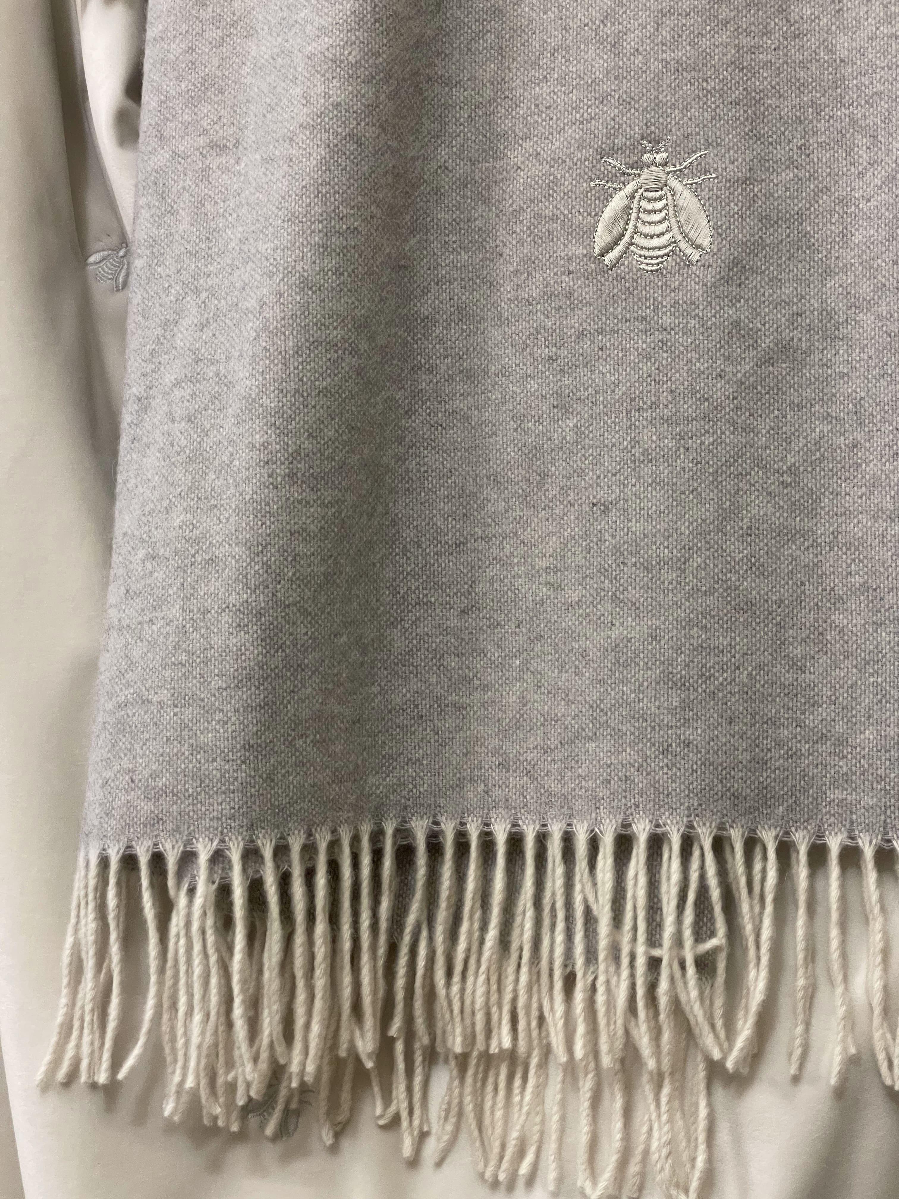 Plaid Mastro Raphael in lana